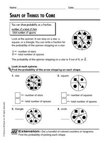 Shape Of Things To Come Worksheet