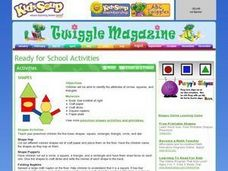 Shapes Activities and Lessons Lesson Plan
