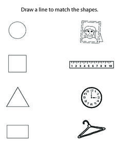 Shapes Activities Worksheet