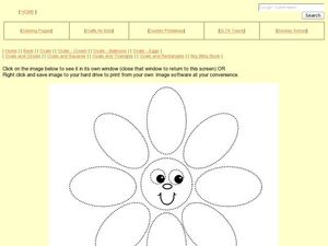 Shapes and Colors: Circles and Ovals Worksheet