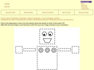 Shapes and Colors: Rectangles and Squares Worksheet
