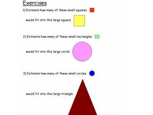 Shapes Estimation Lesson Plan