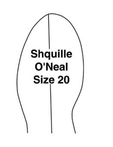 Shaquille O'Neal: Foot and Hand Size Lesson Plan