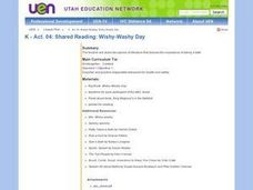 Shared Reading: Wishy-Washy Day Lesson Plan