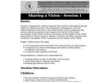 Sharing a Vision - Children's Rights Lesson Plan