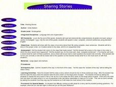 Sharing Stories Lesson Plan