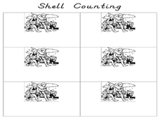 Shell Counting Worksheet