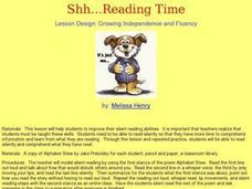 Shh? ReadingTime Lesson Plan