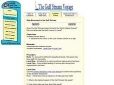 Ship Movement in the Gulf Stream Lesson Plan
