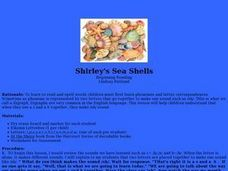 Shirley's Sea Shells Lesson Plan