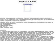 Silent as a Mouse Lesson Plan