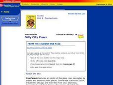 Silly City Cows Lesson Plan