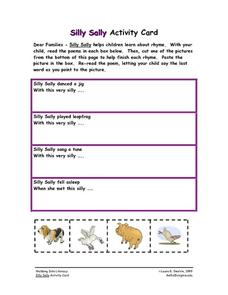 Silly Sally Worksheet