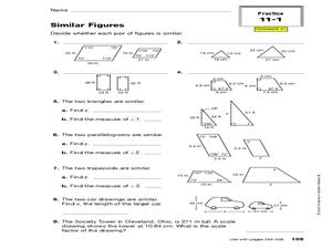 similar figure worksheet - Termolak
