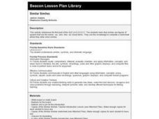 Similar Similes  Lesson Plan