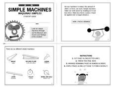 Simple Machines - Museum of Science and Industry Lesson Plan