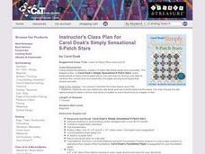 Simply Sensational 9-Patch Stars Lesson Plan
