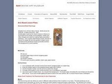 Simulated Bark Paintings Lesson Plan