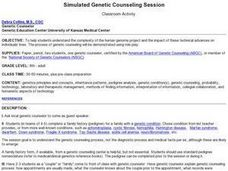 Simulated Genetic Counseling Session Lesson Plan