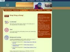Sing! Sing a Song! Lesson Plan