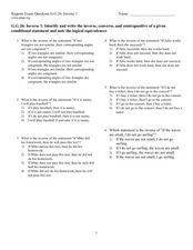 Worksheets Conditional Statement Worksheet With Answers six multiple choice logic question for given conditional statements worksheet