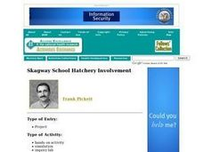 Skagway School Hatchery Involvement Lesson Plan