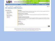 Ski Jumping in 2002 Olympics Lesson Plan