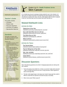 Skin Cancer Lesson Plan