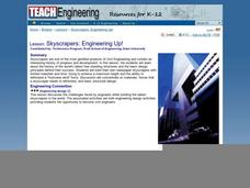 Skyscrapers: Engineering Up! Lesson Plan