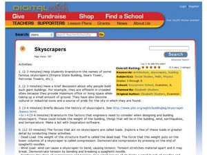 Skyscrapers Lesson Plan