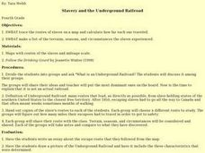 Slavery and the Underground Railroad Lesson Plan