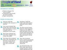 Sleight of Hand Lesson Plan