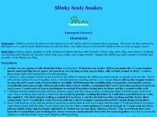 Slinky Scaly Snakes Lesson Plan