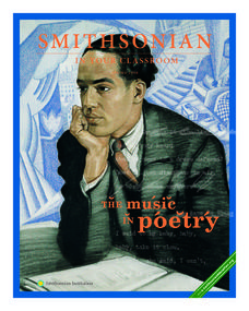 Smithsonian In Your Classroom: The Music in Poetry Lesson Plan
