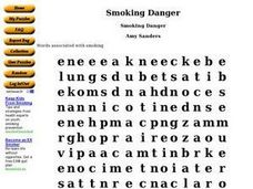 Smoking Danger Worksheet