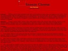 Sneeze Cheese Lesson Plan