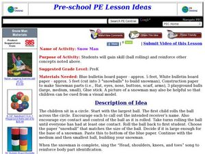 Snow Man Lesson Plan