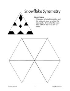 Snowflake Symmetry Worksheet