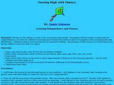Soaring High with Fluency Lesson Plan