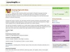 Soaring High with Kites Lesson Plan