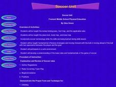 Soccer Unit Lesson Plan