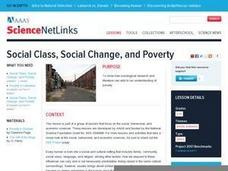 Social Class, Social Change, and Poverty Lesson Plan