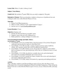 Social Studies: Cooking Methods - Past and Present Lesson Plan