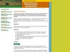 Soil and Ecosystems Lesson Plan