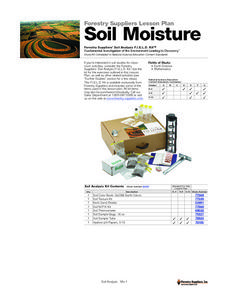 Soil Moisture Lesson Plan