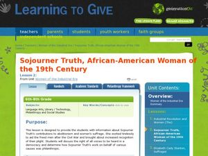 Sojourner Truth Lesson Plan