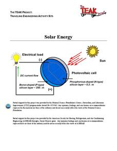 Solar Energy Lesson Plan