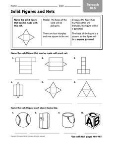 5th Grade Solid Figures Worksheets - Worksheets for Kids, Teachers ...