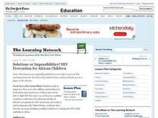 Solutions or Impossibilities? HIV Prevention for African Children Lesson Plan