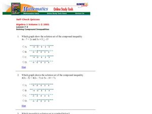 Solving Compound Inequalities Worksheet